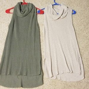 2 for $30 Day trip cowlneck tanks